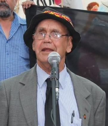 Noongar Elder Uncle Ben Taylor. A victim of the Stolen Generations