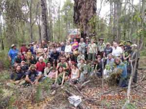 Save Warrup forest campaigners
