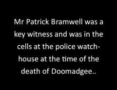 The Story of Mulrunji Doomadgee by Pete Vanda.