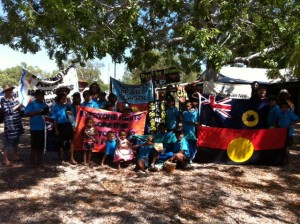 Beagle Bay Community members