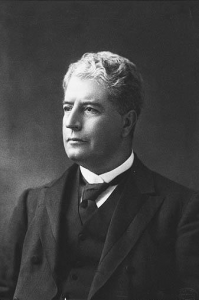 The first Prime Minister of Australia - Edmund Barton