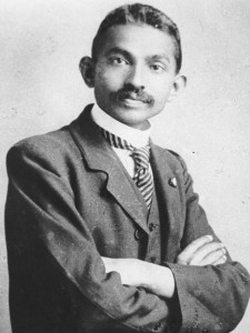 """There would be no law degree or international travel for the Aboriginal born Gandhi."""