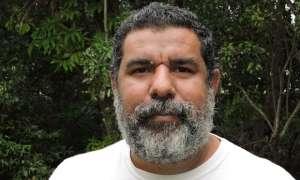 Murrumu Walubara Yidindji, a 'warm, enigmatic, big bear of a bloke'. Photograph: Paul Daley for The Guardian