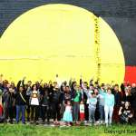 In solidarity at The Block, Redfern Photo by Barbara McGrady, 13th September 2014