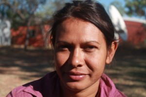 """Balanggarra Aboriginal Corporation Chairperson, Cissy Gore-Birch Gault, """"Aboriginal people are used as a political tool, it is a shame"""" - Photo, Gerry Georgatos"""