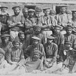 Aboriginal prisoners in The Quod - hundreds died of disease, malnutrition or were beaten to death by guards