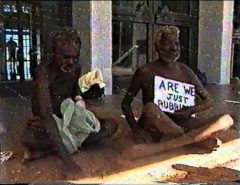 Parliament House Darwin Homelessness protest