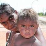 This child of the Kimberley region of Australia could well ask what future lays ahead for me - Photo, Gerry Georgatos