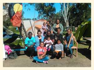 These homeless families are in a safe space - that is for as long as Matagarup camp continues. The little bub in the middle row was born homeless. Her mum went into labour at Matagarup and thank goodness it was not somewhere else in some dangerous or lonely alleyway. This is why we need Homeless Friendly Precincts. We pay our respect to the Matagarup Elders who have taken care of so many for so long