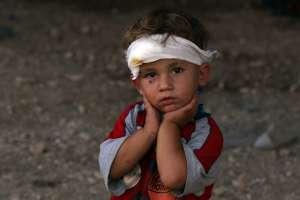 An Iraqi Yazidi child, Image - www.ibtimes.co.uk