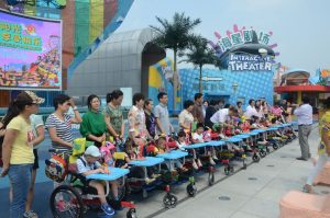 Children in Shanghai benefit from Wheelchairs for Kids thanks to Shaoquett Moselmane.