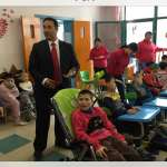 Shaoquett Moselmane at China's biggest orphanage for disabled children